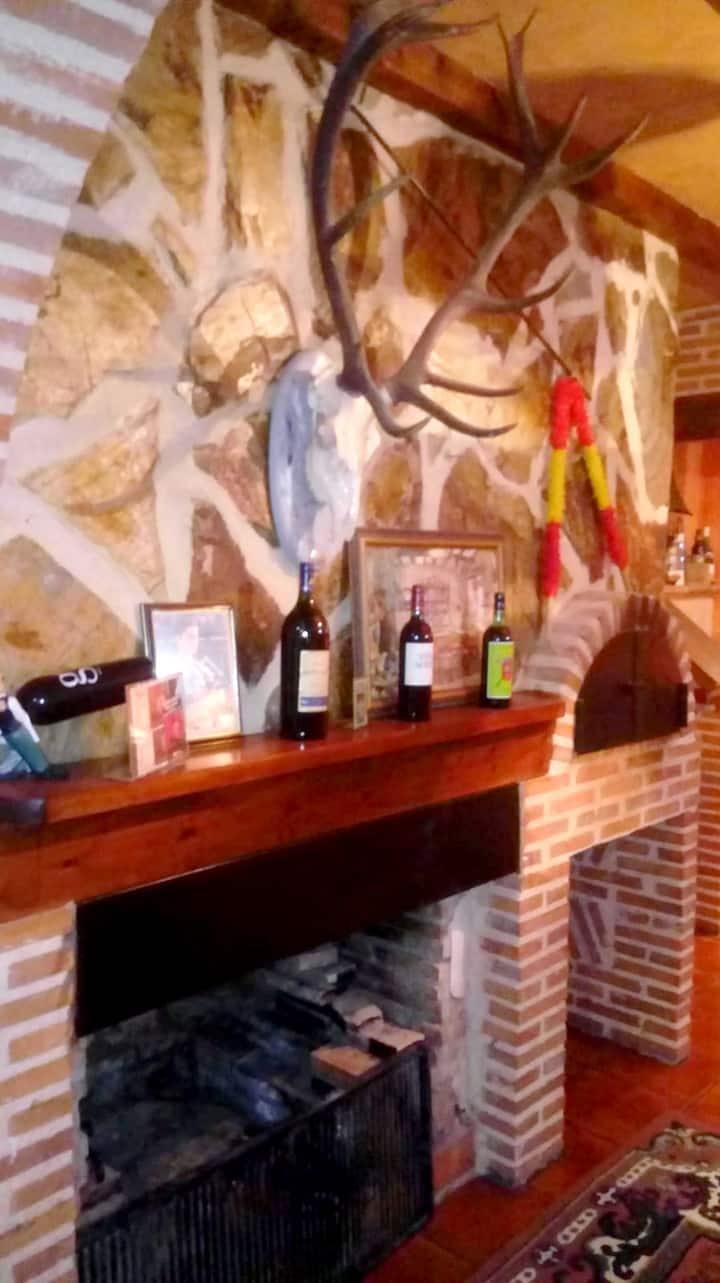 House with one bedroom in Tordesillas, with WiFi