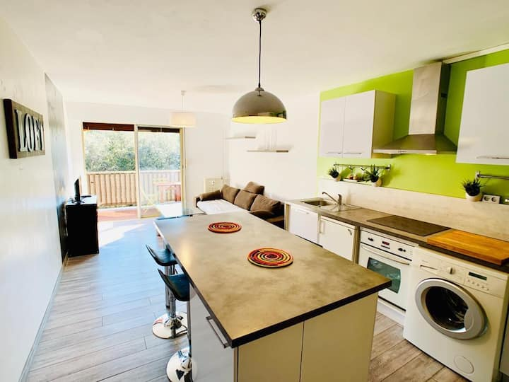 T2 Appartement lumineux et spacieux sans vis à vis