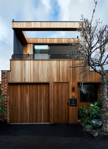 Wood House in heart of Prahran - Prahran - Dom