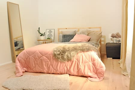 New cozy room in a great location:) - Praha