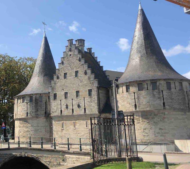 Uniek prachtig gelegen verblijf te Gent-centrum