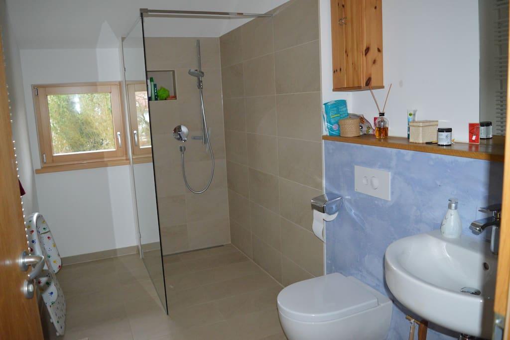 Duschbad für Gäste