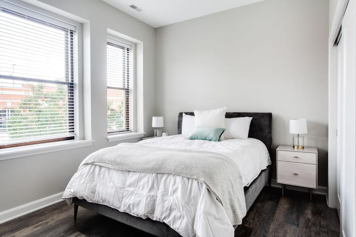 Light and bright bedroom