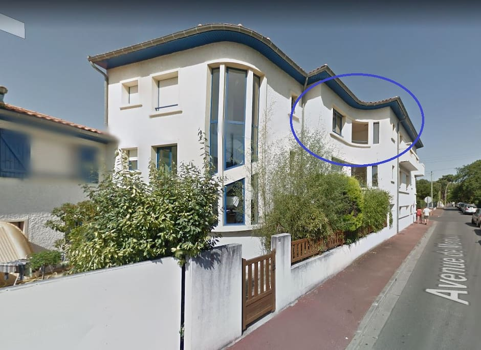 résidence - appartement au 2e et dernier étage