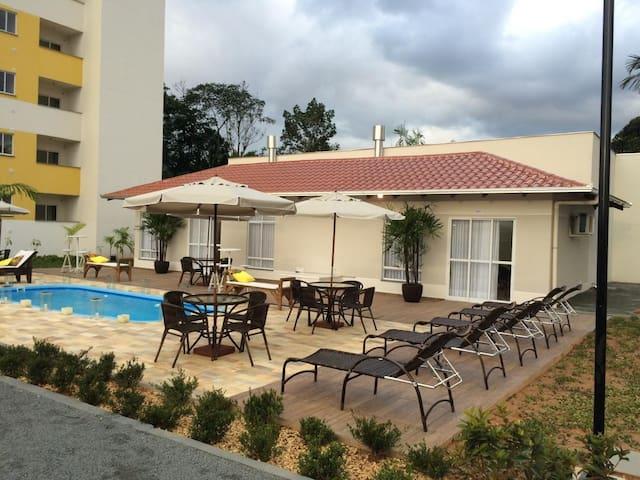 Lindo Apartamento em Jaraguá,  tranquillo e seguro