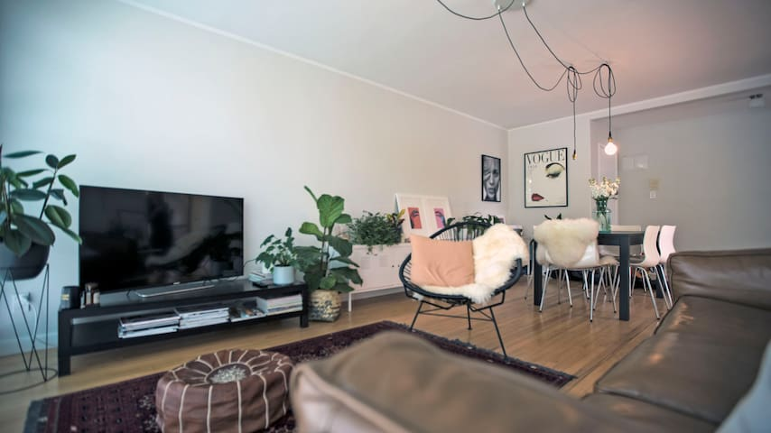Light and Spacious Room in Freemans Bay Apartment