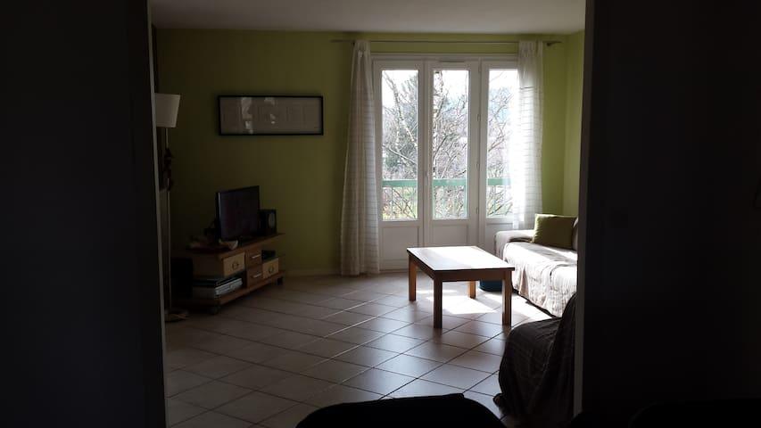 Appartement de 80m² dans résidence avec parking