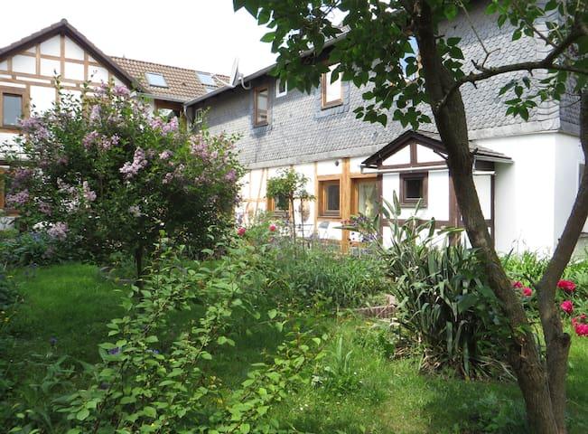 Gartenoase Saalfeld (obere Etage)