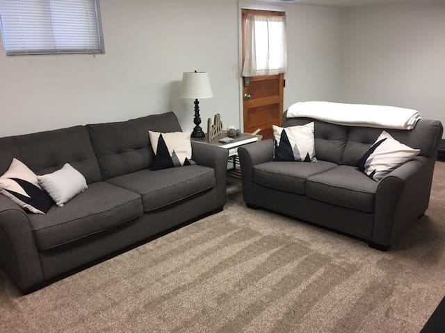 Cozy basement apt minutes from BYU/UVU & mountains