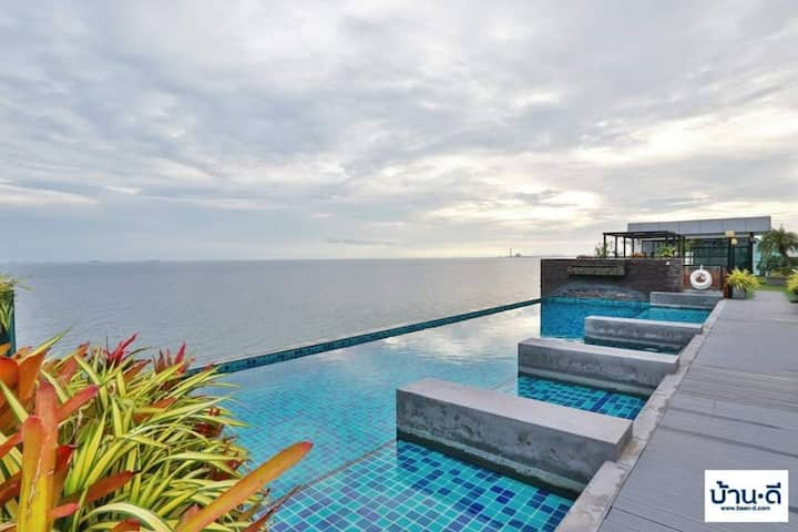 Seaview 44sqm1Bed,The Ultimate River Beach, Rayong