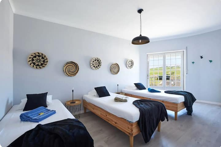 Beach/Rural Rooms in CountryHouse Ericeira Area