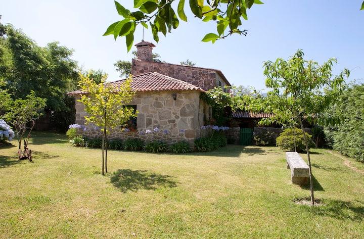 Preciosa casa rural en O Salnés, Rías Baixas