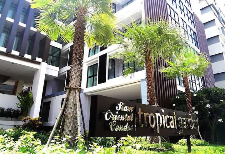Luxurious studio apartment near Pattaya center