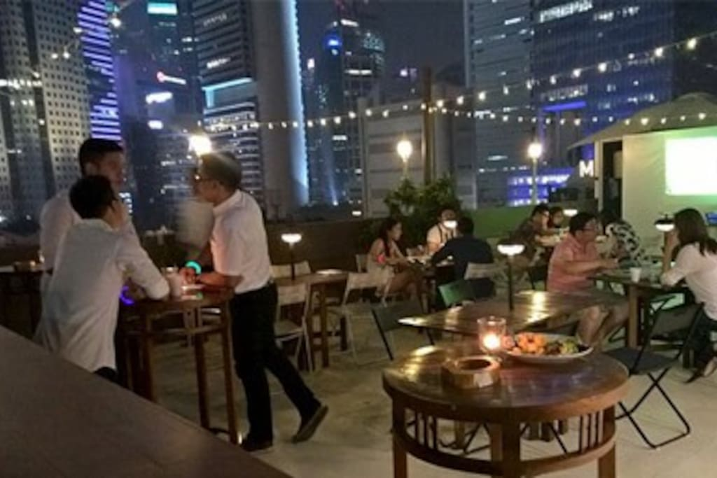 Spend quality time in our rooftop while enjoying the night breeze and each other company.