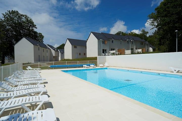 Maison charmante à 10 mins de la Plage ! Accès piscine + sauna