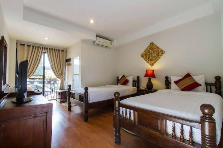 Amazing Twin in Chiang Mai! - Chiang Mai - Apartament