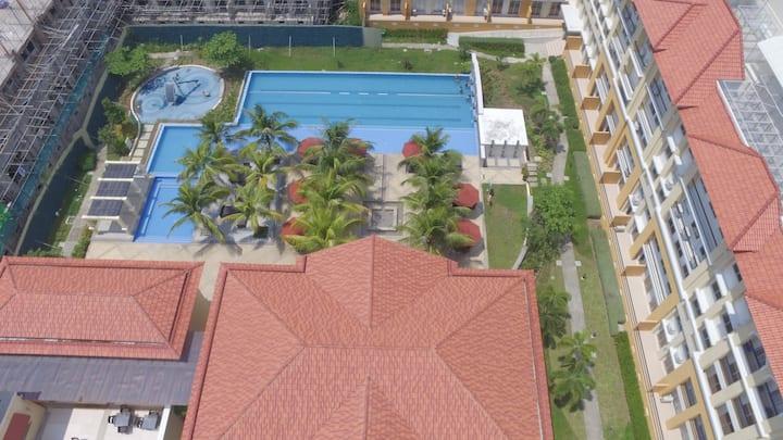 San Remo 2BR Resort Style Condo near Pier
