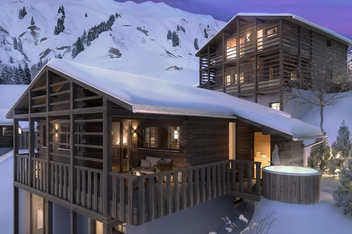 Aadla Walser-Chalet at the Arlberg for 6-8 persons - Schröcken