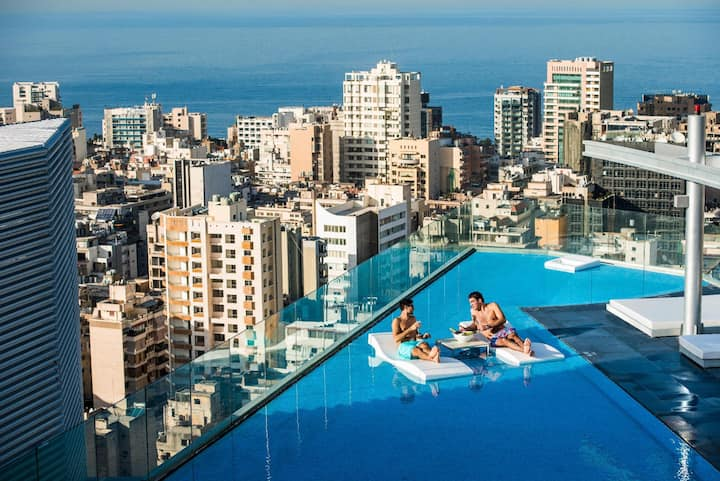 Royal Suite City View Double Bed At Beirut