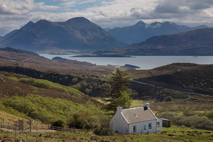 Cottage on Isle of Raasay, next to Skye.
