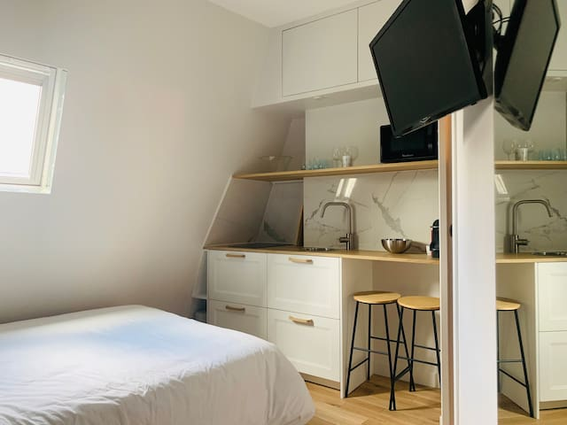 New! Cozy renovated mini studio in Central Paris