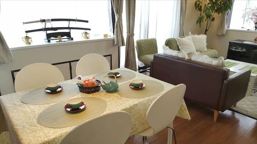 10 min from Shinjyuku. Free Home&pocket Wifi.7ppl - 新宿区