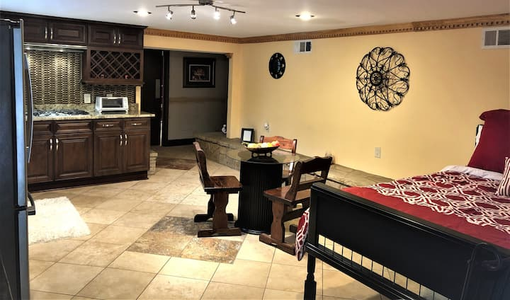 Beautifully Furnished Suite with Recording studio