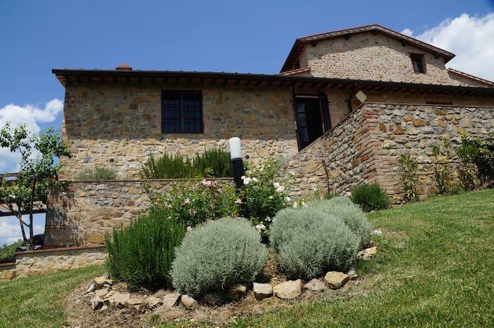 Rustige vakantievilla in Toscane - San Gusmé - Casa