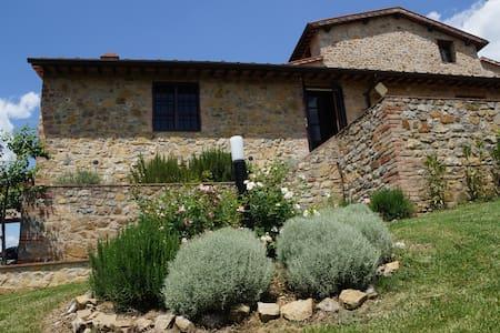 Rustige vakantievilla in Toscane - San Gusmé - บ้าน