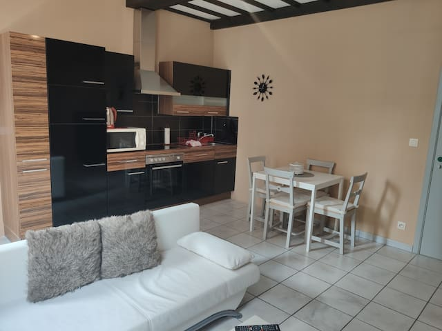 Flat located in the heart of the old city in Namur
