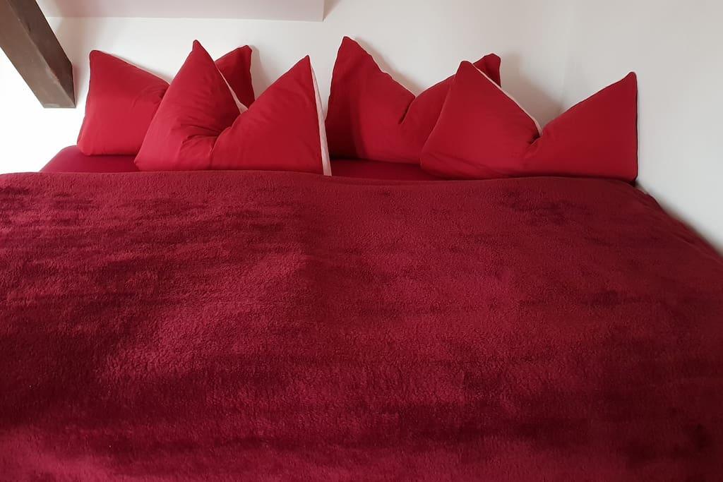 Betten können einzeln gestellt werden