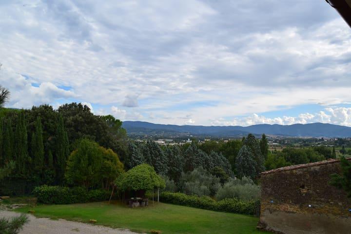 Casa nella campagna Toscana : Villa Irma - Arezzo - Lejlighed