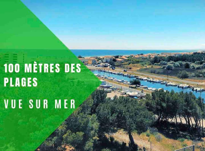 Bel Appartement  ensoleillé à St Pierre la mer