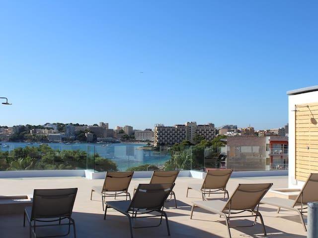 Beautiful studio first beach line / sun terrace - Palmanova - อพาร์ทเมนท์