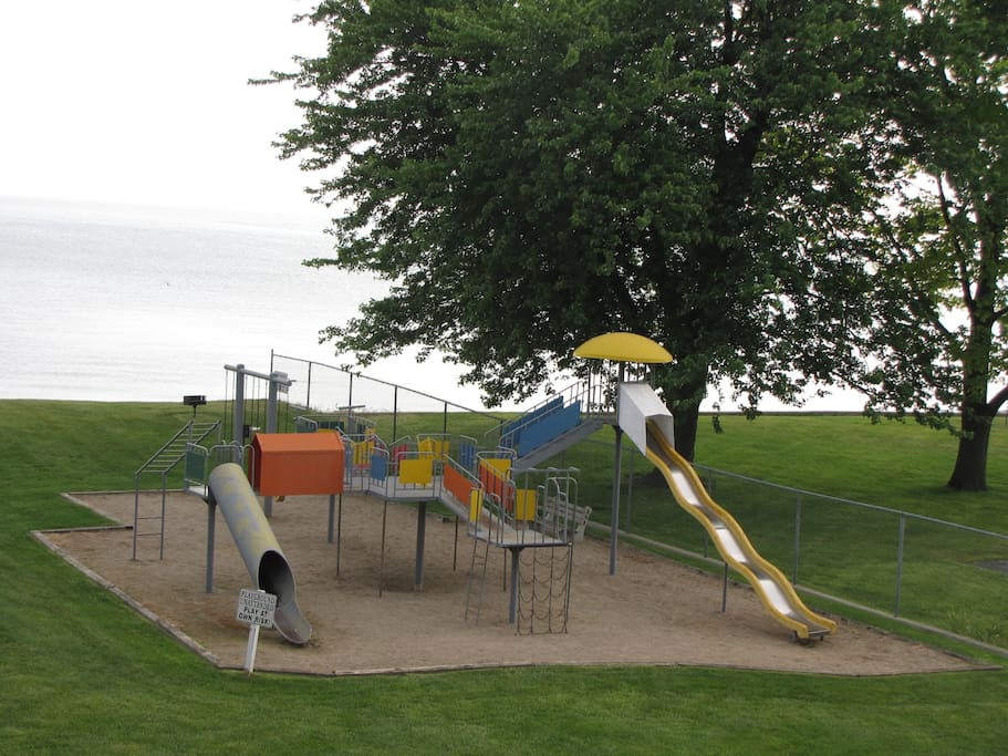 Great playground for the kids.