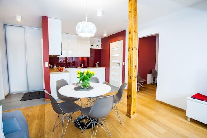 Ruby Apartment in Wieliczka