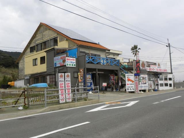 35 minutes by car from Nagasaki station! Accommodation in front of the sea!(Japanese style room 4.5)