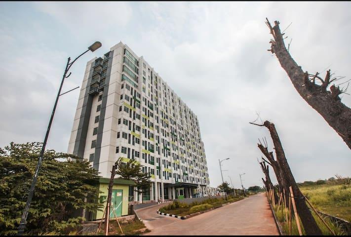 Neat Studio Apartment near Jababeka Area, Cikarang