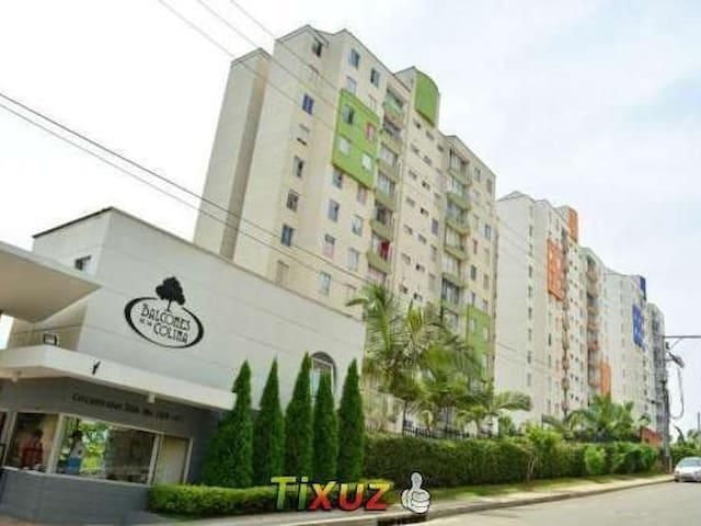 APT BALCONES DE LA COLINA, PORTÓN DEL TEJAR - Bucaramanga - Apartament