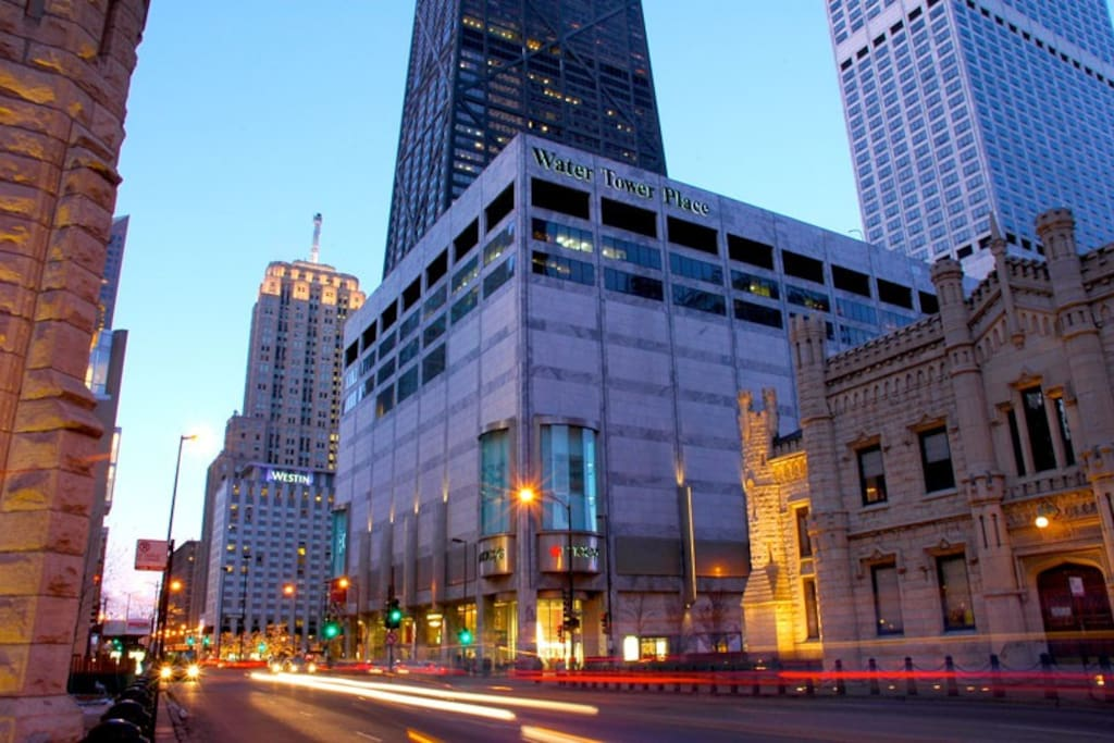 Fantastic location near Michigan Ave and Water Tower Place