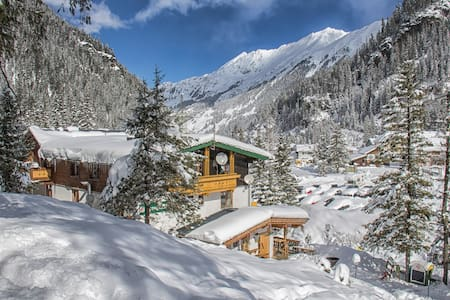 Ferienwohnung am Gletscher direkt am Skilift - Zell am See - Apartment