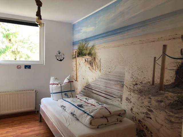 Gästezimmer Möwennest, auch für Monteure