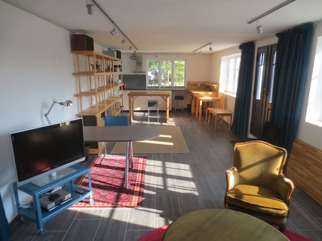 Spacious Ground Floor Flat - Klepp - Apartment