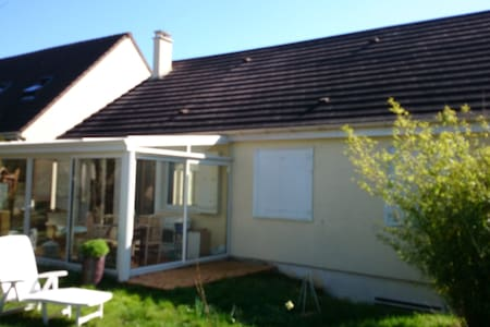 maison et veranda - Magnanville