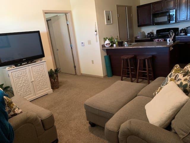 Cozy Suburban Apartment