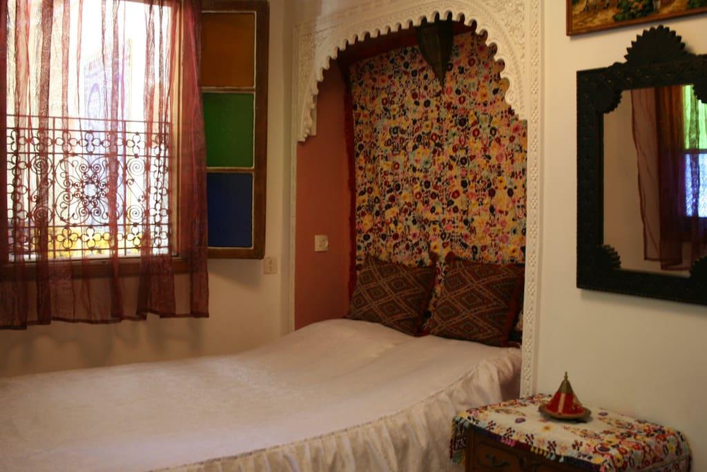 Chambre double Aziza - Riad lalla fatima Fes