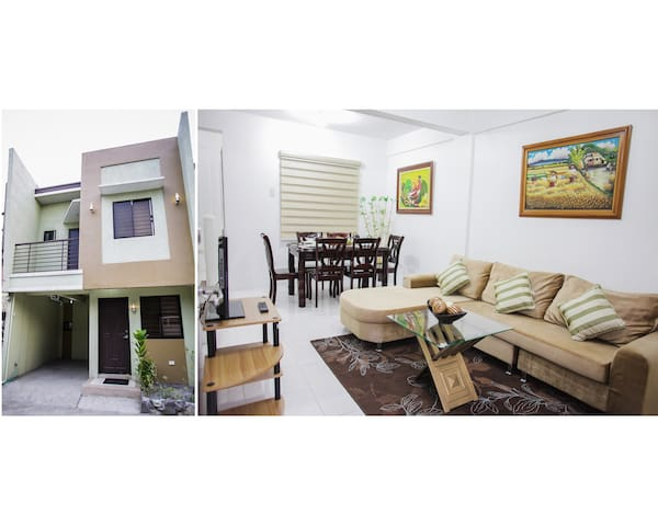 3Bedroom 20mins Airport & Fort Global Cty Max 8pax
