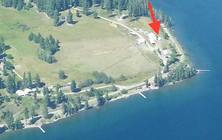 RV site with lake views and access