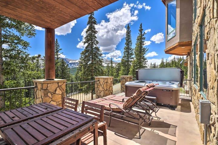 Lavish Fairplay Home w/ Hot Tub & Mtn Views!