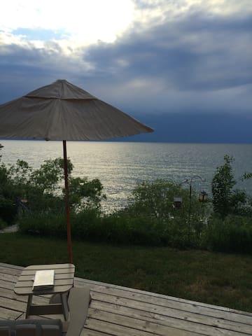 Cottage on Lake Michigan!